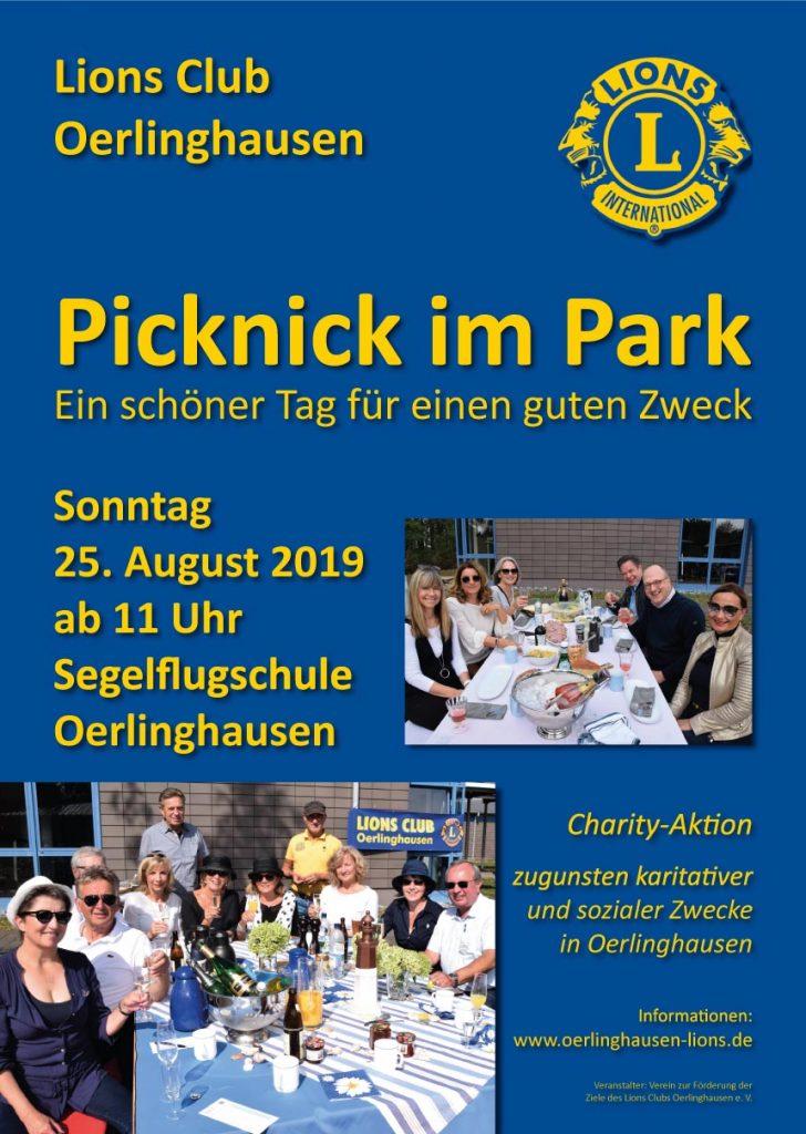 Plakat Picknick im Park (Klicken zum Vergrößern)